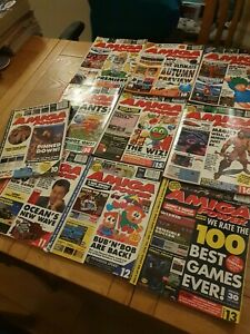 10 to 19 set of  Amiga Power magazine for the Commodore Amiga ,good condition