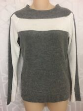 Bailey44 Sweater Gray And White Wool Blend Size XS