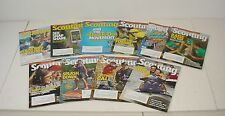Lot of 10 Scouting Magazines 2012 to 2016