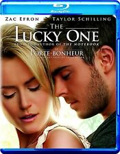 NEW BLU-RAY  // THE LUCKY ONE // Zac Efron, Taylor Schilling, Blythe Danner,