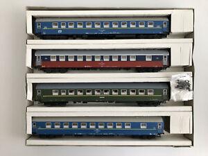 Sachsenmodelle 14020 Ho Scale Schlafwagen/ Sleeping Car Set
