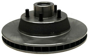Disc Brake Rotor and Hub Assembly-Non-Coated Front ACDelco Advantage 18A1344A