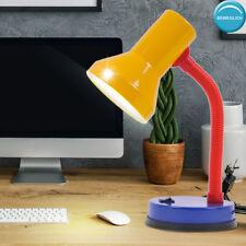 Kinder Schreib Tisch Lampe Leuchte Beleuchtung Strahler beweglich bunt Strahler
