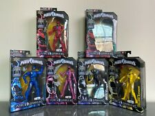 Power Rangers Legacy Collection Power Rangers Movie Bandai Complete Set - New