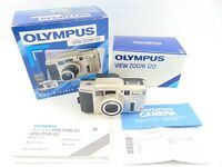 Olympus View Zoom 120 - 35mm Point & Shoot Film Camera - 38-120mm Boxed - Case