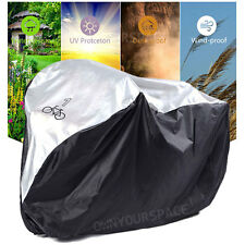 Universal Waterproof Bicycle Bike Cycle Cover Outdoor Rain Sun Weather Resistant