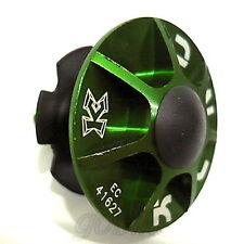 "gobike88 KCNC alloy headset kit (cap/bolt/star nut/rubber top) 1-1/8"" Green, 709"