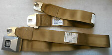 1969 G.M. DELUXE GOLD SEAT BELT 10 E 68 DATE NOS GM