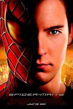 Spiderman 2 - original DS movie poster - 27x40 D/S - Marvel , Final