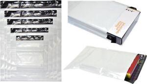 100 Stk Coex Folienversandtaschen Versandbeutel Folientaschen 350x450 mm 45my