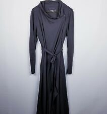 Lunya Women's The Robe Wrap Medium M Grey Pima Cotton