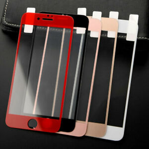 9H Tempered Glass Full Screen Protector Film Cover For iphone6/7/8/s plus/X