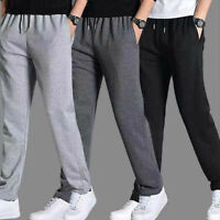 Men Trousers Casual Gym Sports Long Pants Sweatpants For Jogger Running