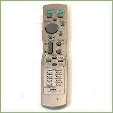 Genuine NEC RP-116 remote control & warranty
