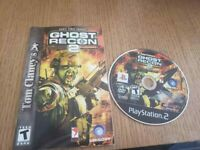 Tom Clancy's Ghost Recon 2 (Sony PlayStation 2, 2004) PS2