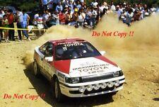 Bjorn Waldegard TOYOTA CELICA GT-FOUR ACROPOLIS RALLY 1988 fotografia 1