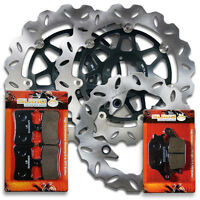 Honda F+R Brake Rotor+Pads CBR 900 RR/RRR Fireblade[1994-1997] VTR 1000F [98-05]