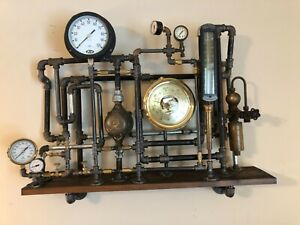 Steampunk sculpture created while taking my chemo for my stage 4 stomach cancer