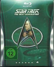 Star Trek Next Generation Season 4 Blu-Ray Deutsche Ausgabe