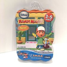 Vtech V.Smile Disney Handy Manny Smartridge Kid Fun Educational Game NEW