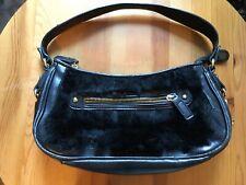 BCBGirls   Black Faux Fur Leather H
