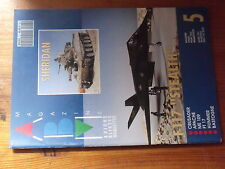 $$ ABM Maquettes N°5 Sheridan  F117 Stealth  Crusader  Apache  Me 109  FT 17