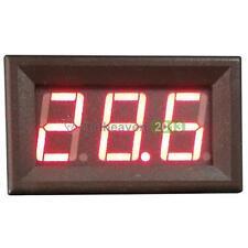 Digital DC 0-200V LED Voltmeter Ammeter Voltage Meter Red Digital Panel Meter