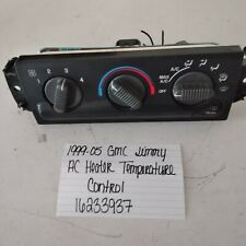 98-04 CHEVY S10 BLAZER GMC JIMMY HEATER CLIMATE CONTROL UNIT 99 00 01 02 03 A//C