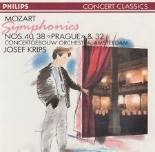 Mozart - Symphonies Nos. 40 & 38 & 32 (Josef Krips) CD