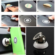 Universal Magnetic Car Mount Kit Sticky Stand Holder For Mobile Cell Phone