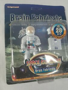Brain Fabricate-Space Explorer astronaut nasa figure rare moon landing shinning