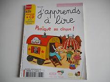 J'APPRENDS A LIRE - PANIQUE AU CIRQUE MARS 2008 - (SANS CD) - DES 6 ANS
