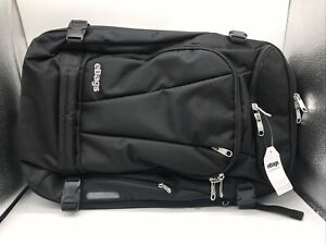 eBags Travel Backpack Solid Black EB4006 Tons of Compartments