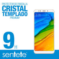 Sentete® Xiaomi Redmi 5 Protector de Pantalla Cristal Templado PREMIUM