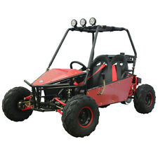New Massimo Go Kart 125cc GKM-125 Automatic Transmission w/Reverse in Red