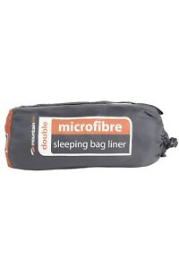 Mountain Warehouse Uni Double Microfibre Sleeping Bag Liner