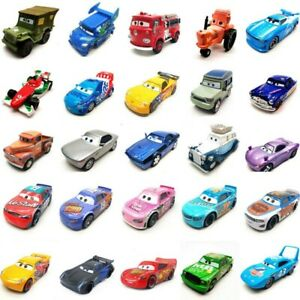 New Pixar Cars 3 Racers Lightning Mater 1:55 Diecast Toy Vehicles fore best gift