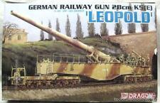 Dragon-alemán pistola de ferrocarril 28CM K5-E Leopold ref 6200 1/35