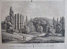 LA MAISON DU DESERT DE MR DE MONVILLE. LABORDE JARDINS DE FRANCE 1808.