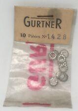 Gurtner lot 10 Rondelles Blocfor carburateur Motobecane reference 1428