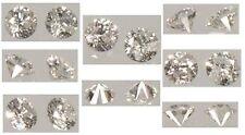 2 Antique 19thC Diamonds Ancient Roman Star Splinters Gemstones