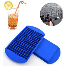 New listing 2Pc-160 Grids Mini Small Ice Cube Frozen Cubes Tray Silicone Ice Maker Mold Diy
