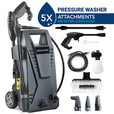 More details for electric pressure washer high power jet 6m hose 330lph patio | car andrew james