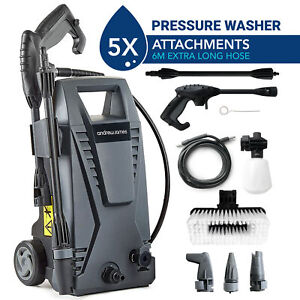 Electric Pressure Washer High Power Jet 6M Hose 330LPH Patio | Car Andrew James