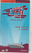 SUPER BOWL XLII EVENT GUIDE DATED 02-03-08 by Map Network - NM