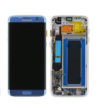 Samsung GH97-18533G LCD e Touchscreen per Galaxy S7 Edge G935F - Blu