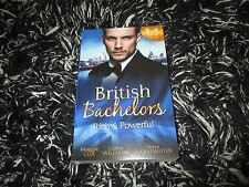 MILLS & BOON BRITISH BACHELORS RICH & POWERFUL 3 IN 1 LIKE NEW 2017