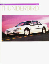 1993 Ford Thunderbird LX & Super Coupe Dealer Sales Brochure