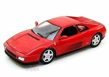 X5532 Hot Wheels Ferrari 348 TB Red 1989 1:18 Diecast Model Sports Car New Gift