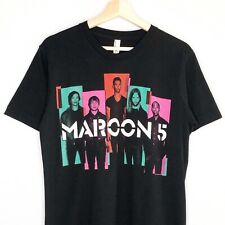 Maroon 5 Tour T-Shirt 2013 Overexposed North American Adam Levine Black Medium